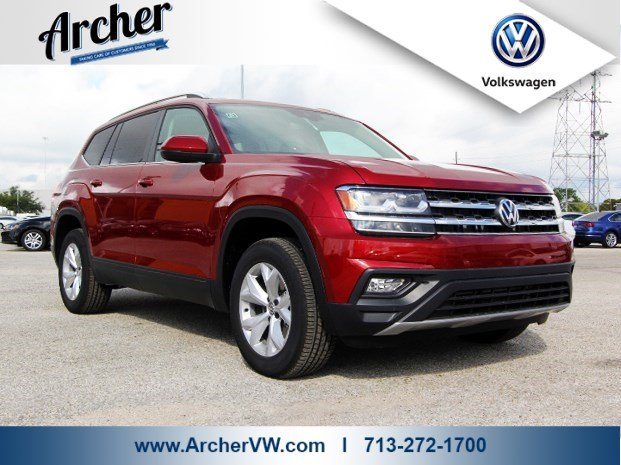 New 2018 Volkswagen Atlas 3 6l V6 Se W Technology Sport