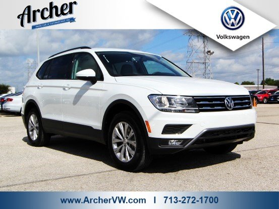 New 2018 Volkswagen Tiguan S Sport Utility in Houston #011724 | Archer Volkswagen