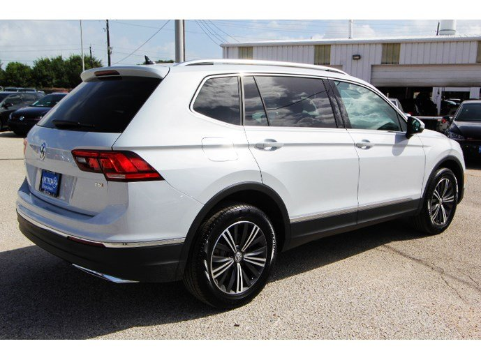 New 2018 Volkswagen Tiguan Sel Sport Utility In Houston