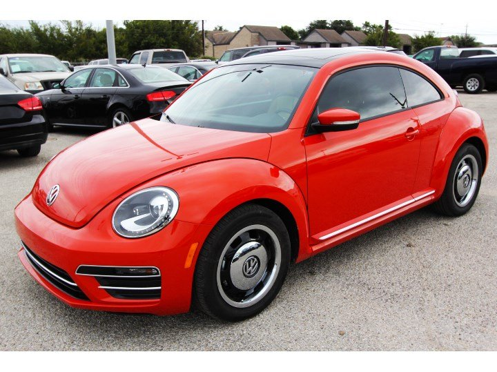 New 2018 Volkswagen Beetle Coast Hatchback In Houston